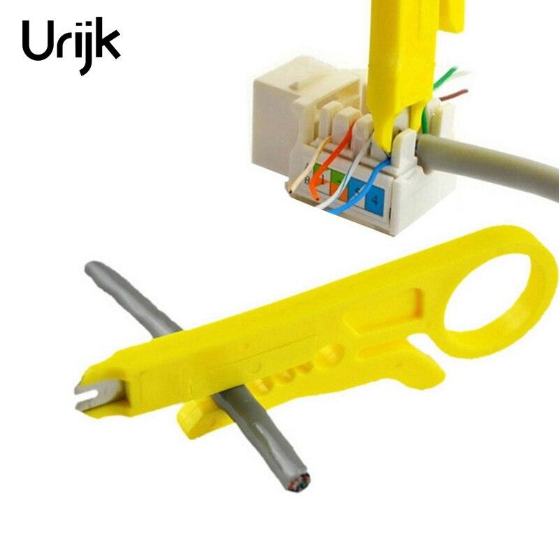 Urijk Mini Tasche Tragbare Abisolierzange Messer Crimper Zange Crimpen Werkzeug Kabel Abisolieren Draht Cutter Crimpatrice Werkzeug Teile Zangen