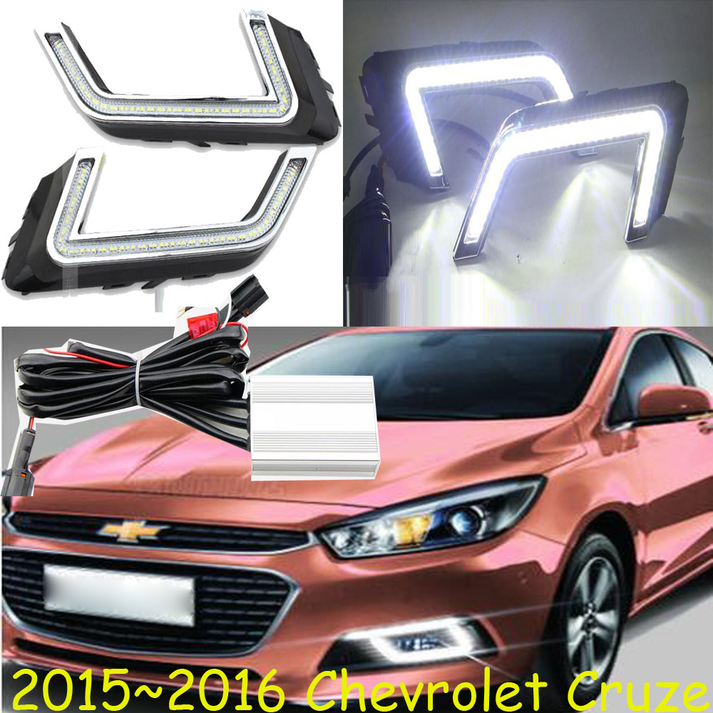 headlight for <font><b>Chevrolet</b></font> Cruze daytime light,<font><b>2009</b></font>~2013/<font><b>2015</b></font>~2016;car accessories,LED,Cruze fog light image