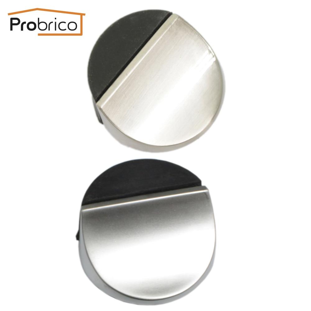 probrico door stopper ds8296 zinc alloy satin chrome powerful door