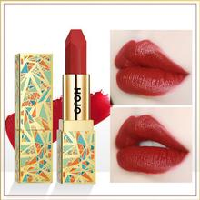 ZHENDUO 6 colors Fashion Sexy Velvet matte Lipstick Makeup Moisturizing red Lip stick Long-lasting Waterproof Beauty