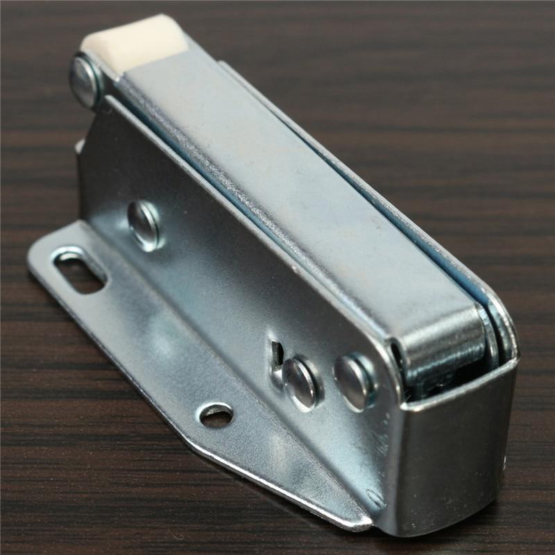 2pcs LOFT DOOR TOUCH CATCH Attic Hatch Sprung Cupboard Latch Lock ...