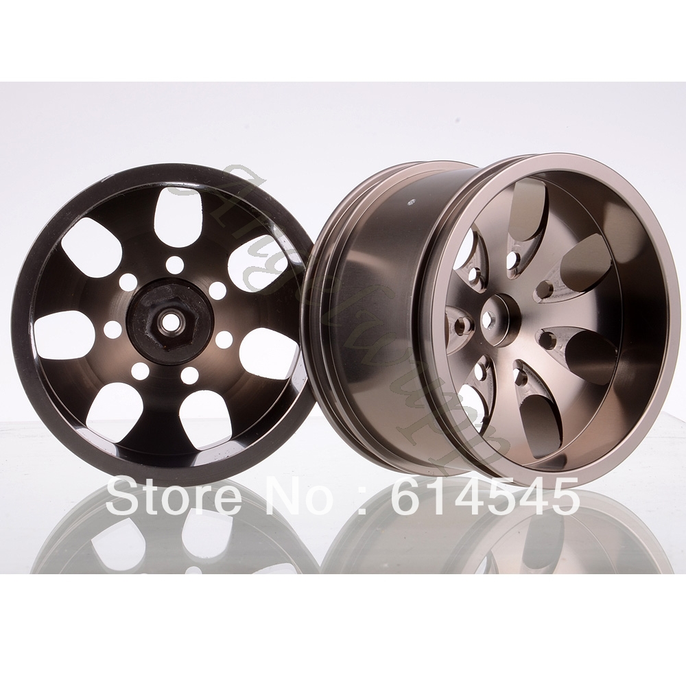 4xRC Monster Truck Bigfoot Metal Wheel Rim HEX:12MM D:79MM W:50MM BF07GR 4pcs 12mm racing wheel rim