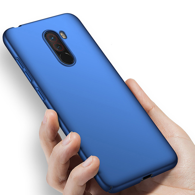 buy online c054c 8d51d US $2.99 25% OFF|Xiaomi Pocophone F1 Case Luxury Ultra Thin Hard Case On  Xiomi Poco F1 Phone Back Cover Pocof1 F 1 Global Version Protective Case-in  ...