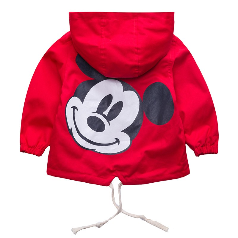 Dulce Amor Kids Mickey Jacket Coat For Boys Hooded