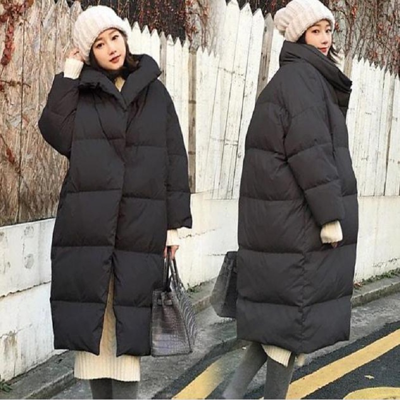 new autumn/winter women's down jacket maternity down jacket outerwear women's coat pregnancy plus size clothing warm parkas 1040 linenall women parkas loose medium long slanting lapel wadded jacket outerwear female plus size vintage cotton padded jacket ym