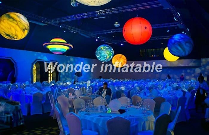 LED φωτισμός 2m γιγαντιαίο φουσκωτό - Προϊόντα για τις διακοπές και τα κόμματα - Φωτογραφία 4