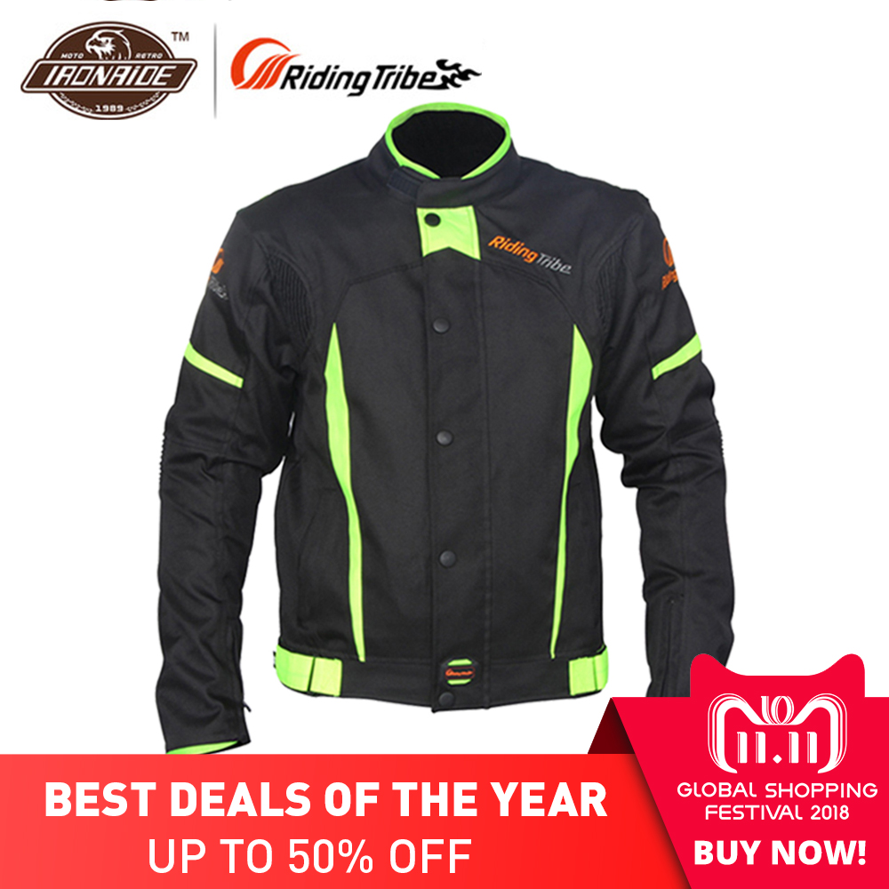 цена на Riding Tribe Waterproof Motorcycle Jacket Riding Racing Body Protective Jacket Motorcycle Protector Motocross Jacket for Men