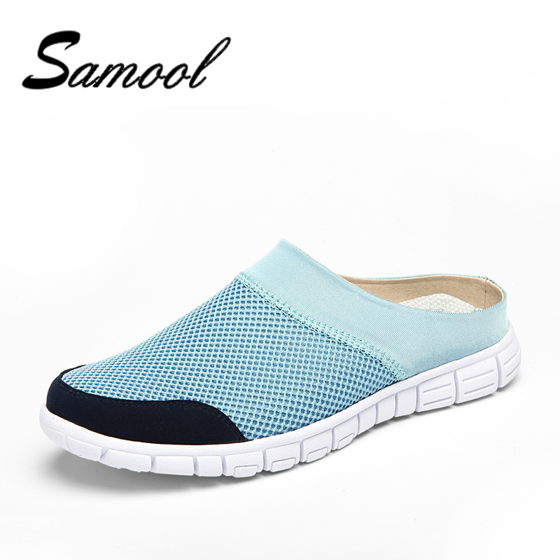 Samool Hot Sale Men Summer Flats Breathable Male Casual Shoes Fashion Chaussure Homme Soft Zapatos Hombre Summer Cool Shoe NX35