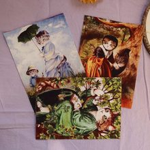 restore ancient cats New Real Telas Patchwork Tissu Oil Painting designs Cotton Fabric Style For Diy Project Patchwork Crafts(China)