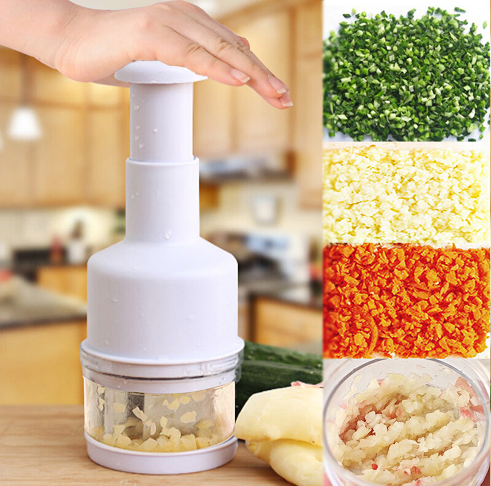 New Arrival Kitchen Gadgets Pressing Vegetable Onion Garlic Chopper Cutter Slice