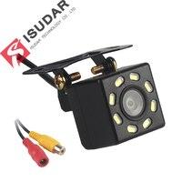 New 8 LED Night Vision Car Rear View Camera Universal Backup Parking Camera Waterproof 170 Wide