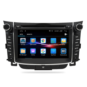 """Image 2 - 7"""" IPS Screen Android 9.0 Car DVD Radio Player For Hyundai i30 Elantra GT 2012 2016 2 Din Video GPS Navigation Stereo Multimedia"""
