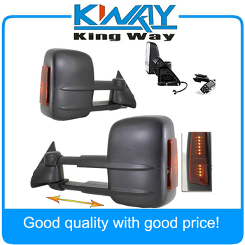 LED SIGNAL For 1988-1998 Chevy C/K 1500/2500/3500 Manual Towing Tow Hauling Mirror PAIR