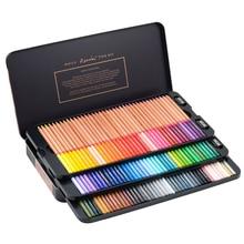 Andstal Marco Renoir 100 Colors Professional Fine Art Artist Oil Color Pencil Set drawing sketch Colour colored pencils lapiz de цены онлайн