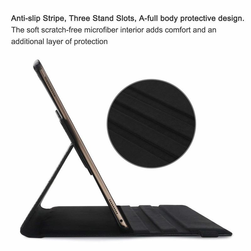 Rotating-Leather for Funda Coque Smart-Sleep Case Auto-Awake-Cover iPad Apple 360-Degree
