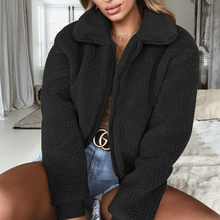 Elegant Faux Fur Coat Women 2018 Autumn Winter Warm Soft Zipper Fur Jacket Female Plush Overcoat Casual Outerwear(China)