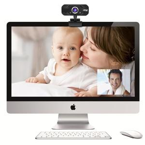 Image 3 - Hxsj S50 usb webカメラ720p hd 1MPコンピュータカメラウェブカメラw/内蔵吸音マイク1280*720ダイナミック解像度