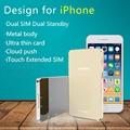 Последним Dual 2 Sim Двойной Резервный Bluetooth Продлить Адаптер SIM L20 LAIFORD GoodTalk Нет Джейлбрейк Для iPhone/iPod шестой iOS 10