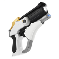 With Light!!! 10000mah Mercy Cosplay Gun For Costume Mercy Cosplay Props Angela Ziegler Weapon Halloween Props Christmas Gift