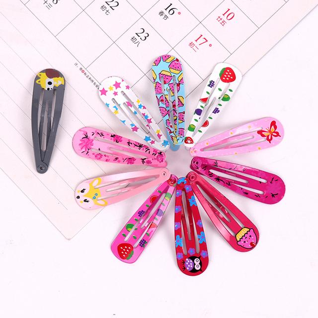 18PCS/3 Set Children Snap Hair Clips Barrettes