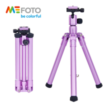 MeFoto MF05 Tripod Reflexed Monopod Selfie Stick Mini Portable Tripod For Camera With Ball Head 5 Section DHL Free Shipping