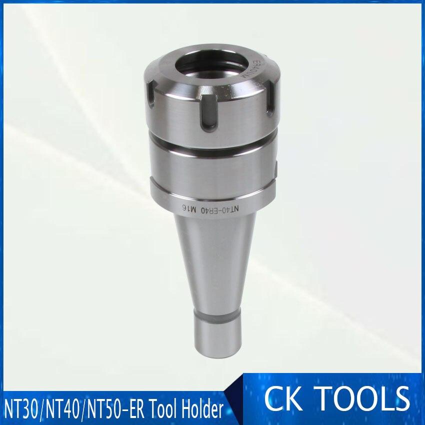 1pcs  NT40-ER40 CNC Milling Chuck Holder Milling Workholding