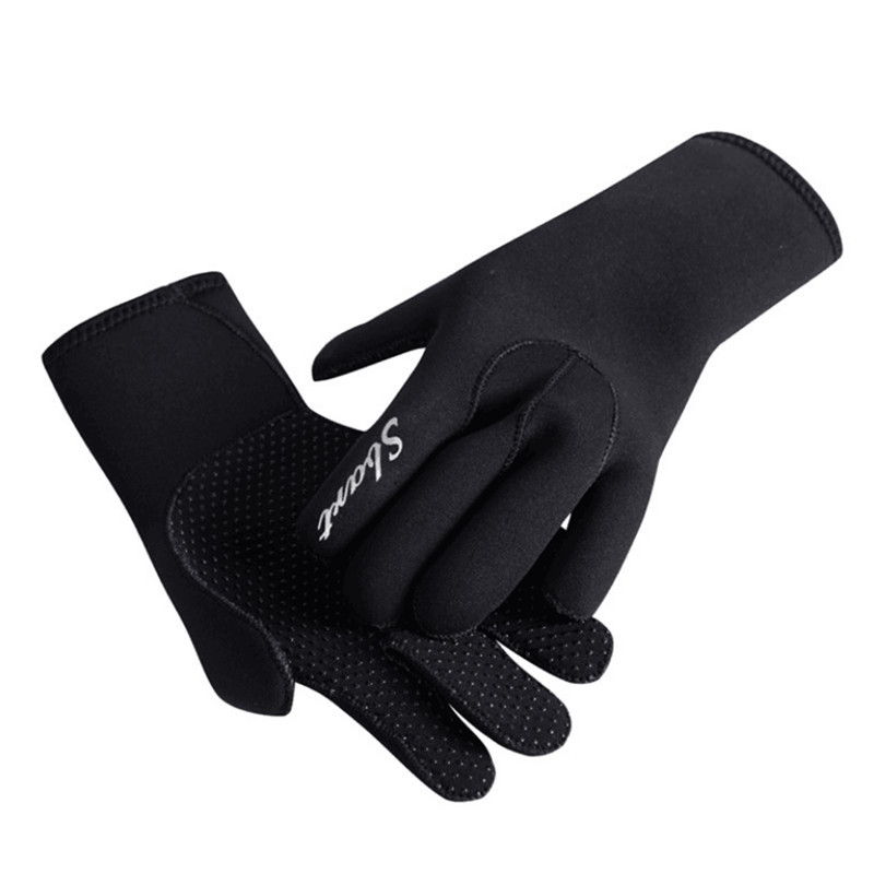 2mm Neoprene Diving Gloves Non-slip Scratch Proof Fishing Gloves Spearfishing Underwater Hunting Snorkeling Gear Paddles Tool
