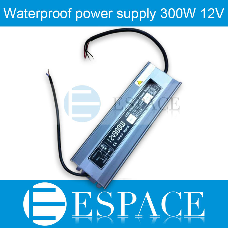 IP67 12V 25A 300W AC100-240V Input Electronic Waterproof Led Power Supply/ Led Adapter 12V 300W free fedexIP67 12V 25A 300W AC100-240V Input Electronic Waterproof Led Power Supply/ Led Adapter 12V 300W free fedex