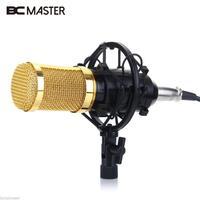 Professional BM 800 Condenser Microphone Cardioid Pro Audio Studio Vocal Recording Mic KTV Karaoke Microphone Kit