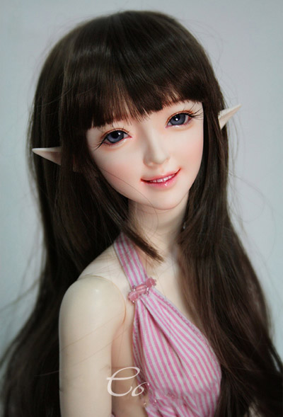1/3 scale doll Nude BJD Recast BJD/SD Beautiful Girl Resin Doll Model Toy.not include clothes,shoes,wig and accessories A15A1796 1 4 scale doll nude bjd recast bjd sd kid cute girl resin doll model toys not include clothes shoes wig and accessories a15a457