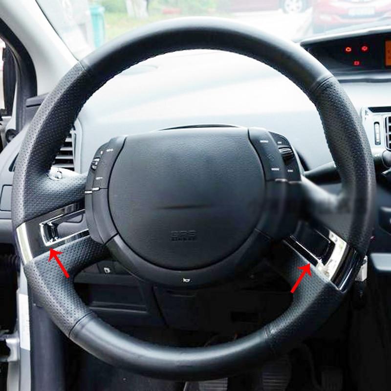 2pcs für Citroen C-Quatre / C4 2012 (Anderes Jahr müssen - Auto-Innenausstattung und Zubehör