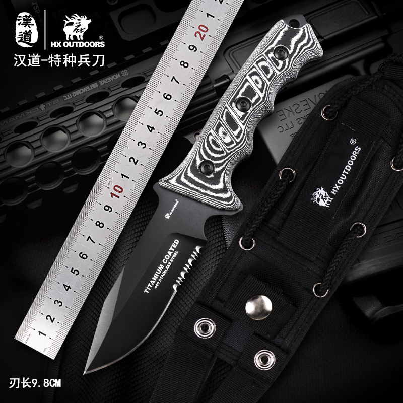 HX Outdoors Hunting Camping Kinves Survival knife Rescue Tool 440C Blade G10 Handle 58HRC Pocket EDC Tool Dropshipping hx outdoors tactical folding knife pocket d2 steel with g10 handle 58hrc camping hunting survival kinves edc tools rescue tool