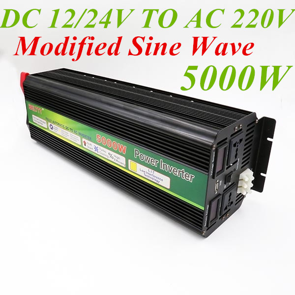 Inverter 12v 220v 10000w, 5000W Inverter 12V 220V Peak Power 10000W Modified Sine Wave Power 5000W