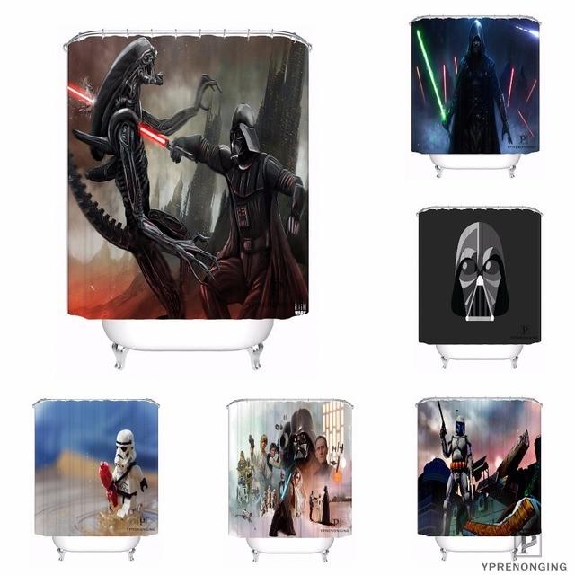 Custom Star Wars Stormtrooper Waterproof Shower Curtain Home Bath Bathroom S Hooks Polyester Fabric Multi Sizes0421 Sohu 37