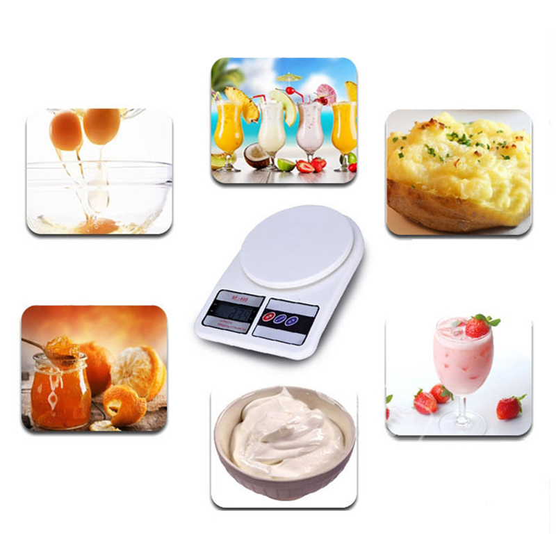 10kg 1g SF 400 Digital LCD Display Kitchen Electronic Scales for Postal Parcel Food Weight Diet