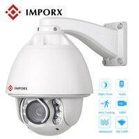 3MP 30X PTZ IP Camera 1080P Audio Auto Tracking Dome Camera Network Onvif Alarm Zoom IP CCTV Camera Security Camera Support POE