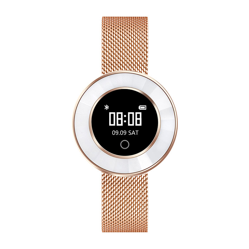 Sport Women Smart Watch X6 with Swimmig Blood Pressure Bluetooth Lady Wristband Heart Rate Smart Bracelet for xiaomi huawei band in Smart Watches from Consumer Electronics