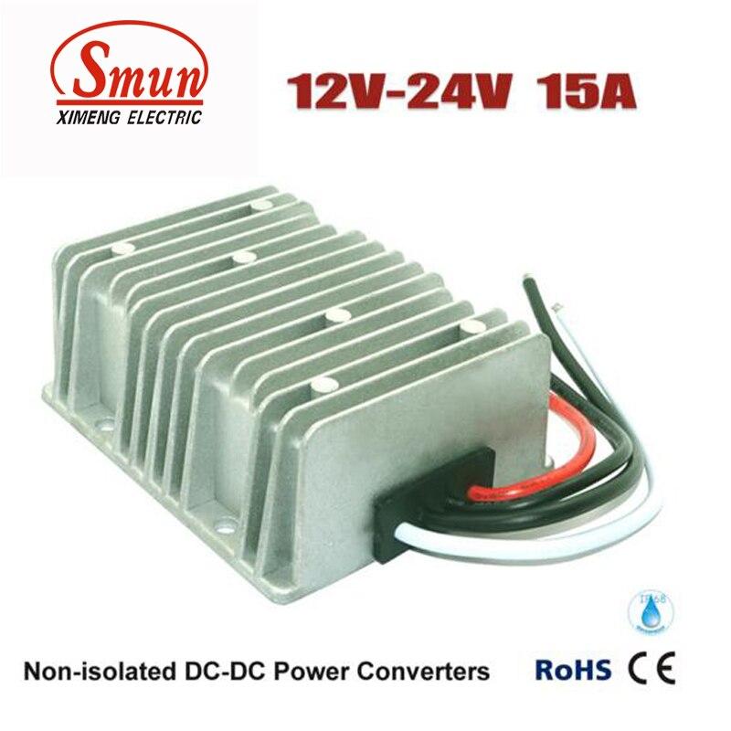 DC/DC Converters 12V TO 24V 15AMP DC DC Boost Converter Step Up Regulator Module