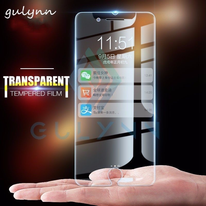 0 26mm 2 5D New HD Protective Tempered Glass for Iphone 5S 4S 6s 7 8 plus Screen Protector For iphone X XR XS Max glass film 9H in Phone Screen Protectors from Cellphones Telecommunications