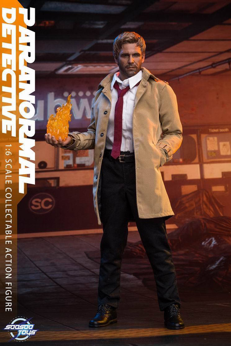 Soosootoys 1//6 Constantine Hell Detective Action Figure Set With Accessories Toy