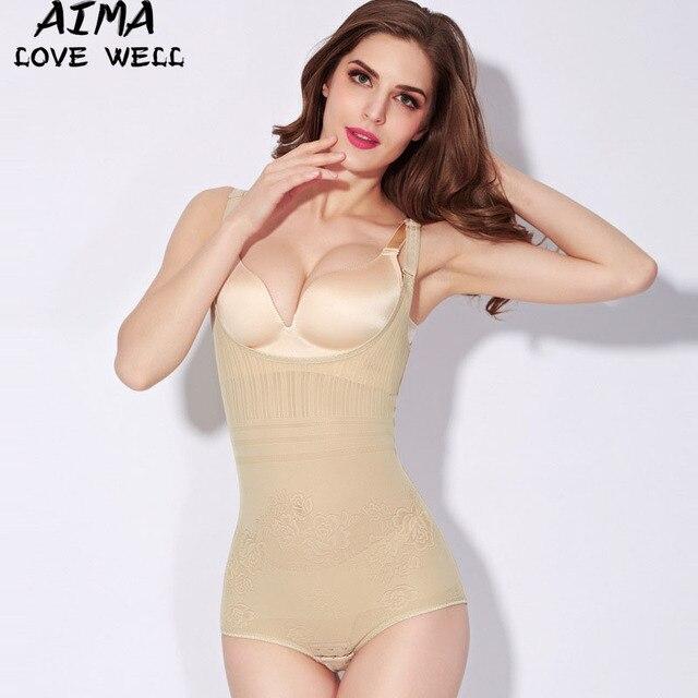 Mujeres underwear body shaper tummy control de underbust adelgaza fajas faja de cintura de control firme body corsés más tamaño