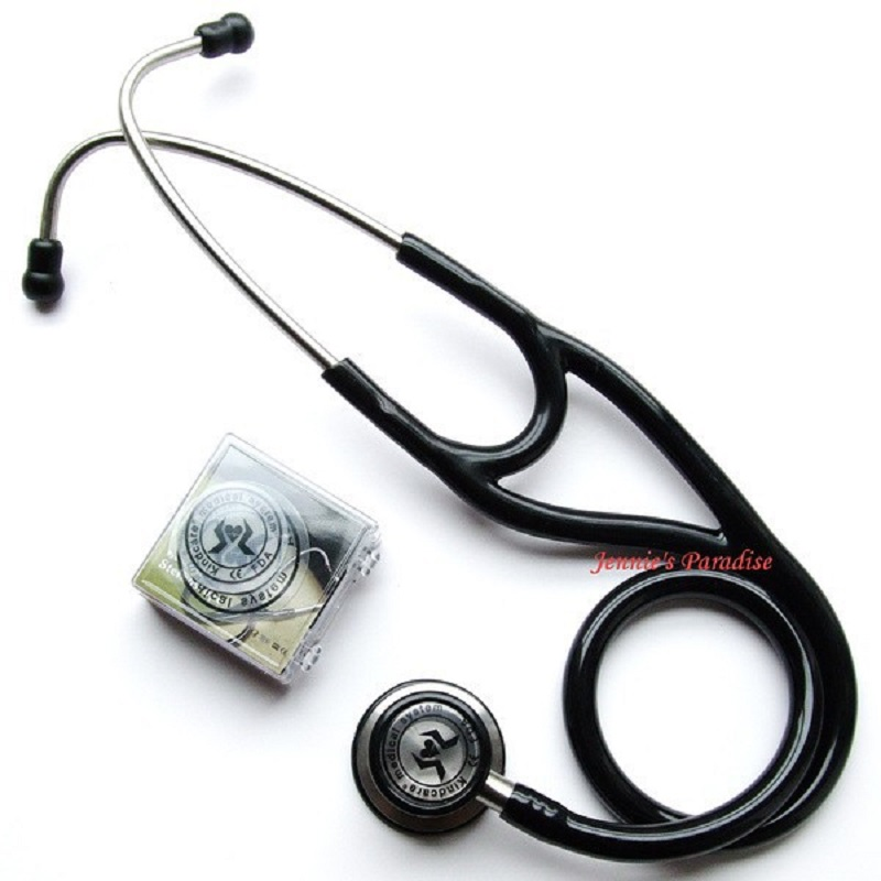 Drop Shipping Kindcare Professional Stainless Cardiology Stethoscop Stethoscope Classic With Name Tag Kindcare Medical System