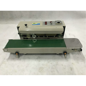 Image 4 - FR 900S Heat Sealing Machine for Snack Pouches, Aluminum Foil Bags, Candy Wrapper  PP, PVC, POF film bags band sealer