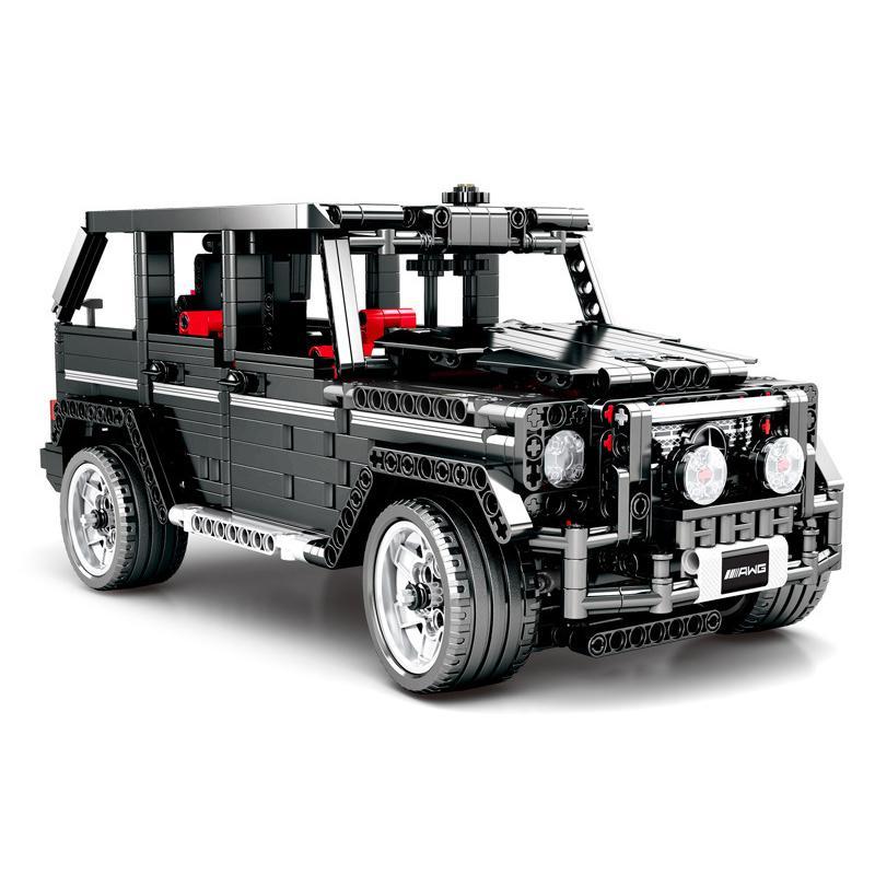 Blocs techniques 1343 pièces Legoings ville moteur jouets voiture bloc Simulation mercedes-benzs grand G modèle pour enfant anniversaire Legoing cadeau