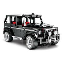 Technical Blocks 1343pcs Legoings City Motor Toys Car Block Simulation Merceding benzs Big G Model For Kid Birthday Legoing Gift