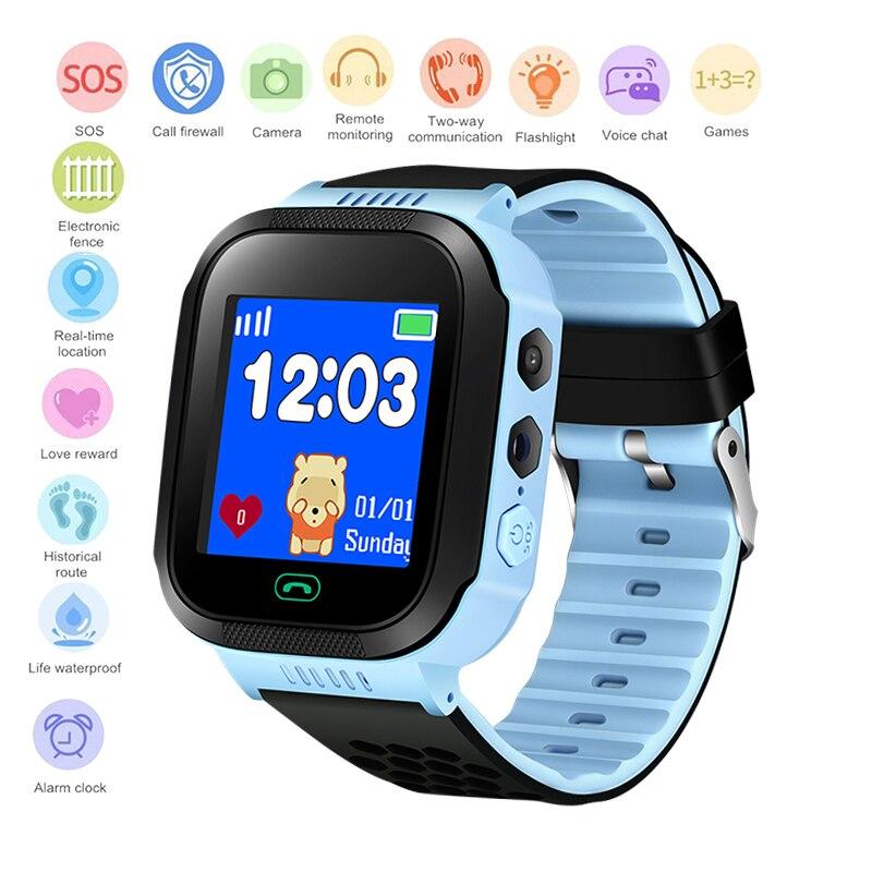 5770ad6b7a6 BANGWEI2018 Novas Crianças Posicionamento LBS Relógio Crianças rastreador inteligente  Anti-perdido Relógio SOS Chamada link