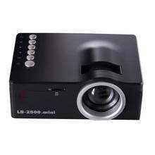 Горячая! Мультимедийный Кинотеатр СВЕТОДИОДНЫЙ Проектор Полная Поддержка Hd 1080 P Видео HDMI ЖК-Проектор USB ТВ VGA SD HDMI Mini Projector # Dec29