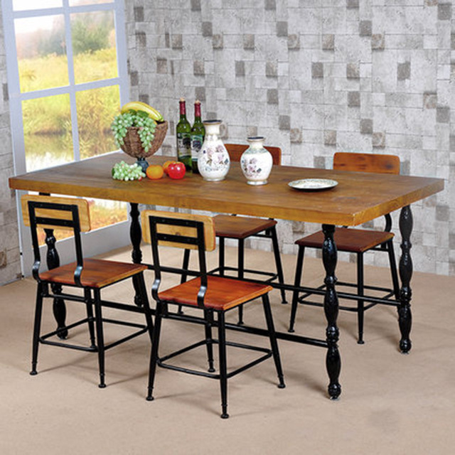 custom restaurant tables and chairs tattoo chair american iron casual cafe hotel combination of creative vintage wood dining