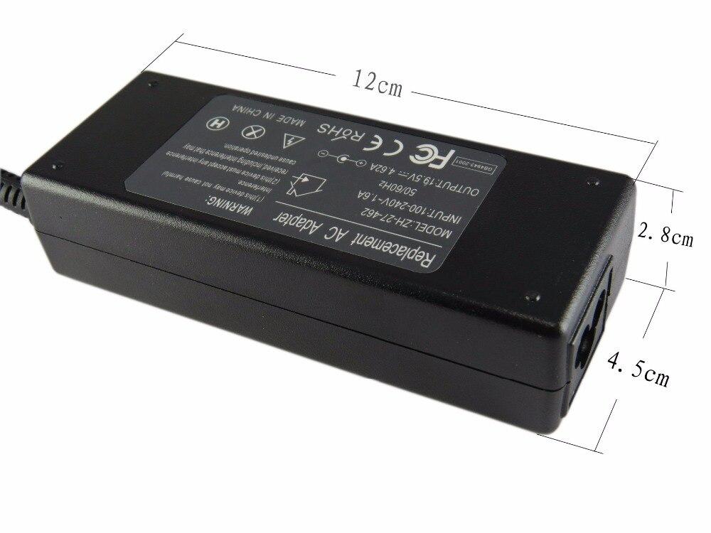 19.5V 4.62A 90W Laptop Ac Power Adapter Character For Dell Xps 13 12 - Նոթբուքի պարագաներ - Լուսանկար 4