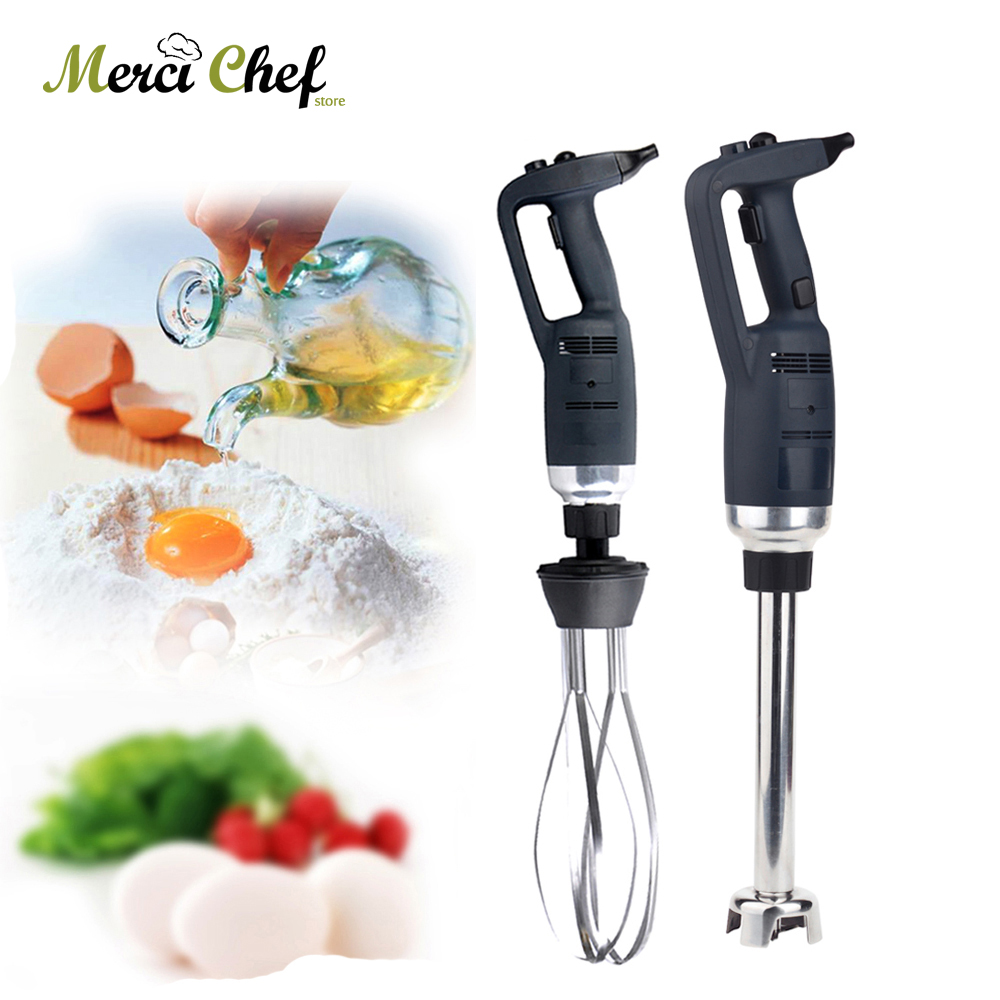 ITOP Electric Commercial Immersion Blender Changeable Head Egg Beater 185mm Whisk Multifunctional Mixer Juicer Food Process